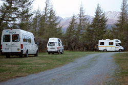 Glentanner park centre mt cook accommodation with for Lake tekapo motor camp